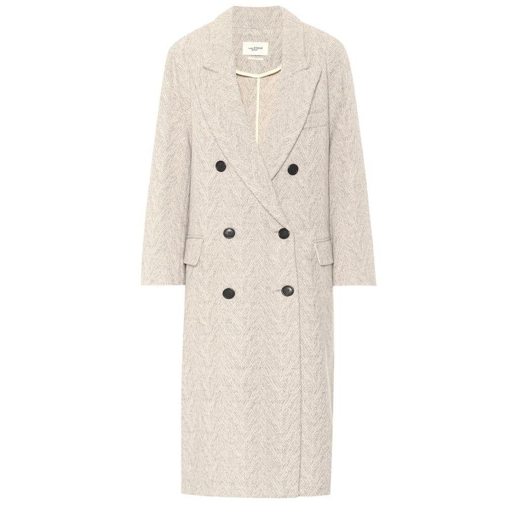 イザベル マラン Isabel Marant, Etoile レディース コート アウター【Ojima wool-blend coat】Ecru