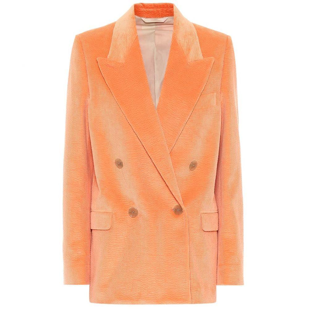 アクネ ストゥディオズ Acne Studios レディース スーツ・ジャケット アウター【Corduroy blazer】Peach Orange