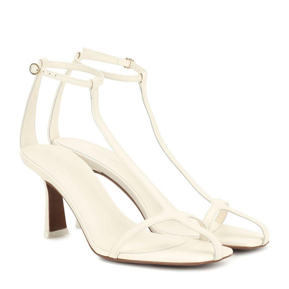ネオアス Neous レディース サンダル・ミュール シューズ・靴【Jumel leather sandals】Cream