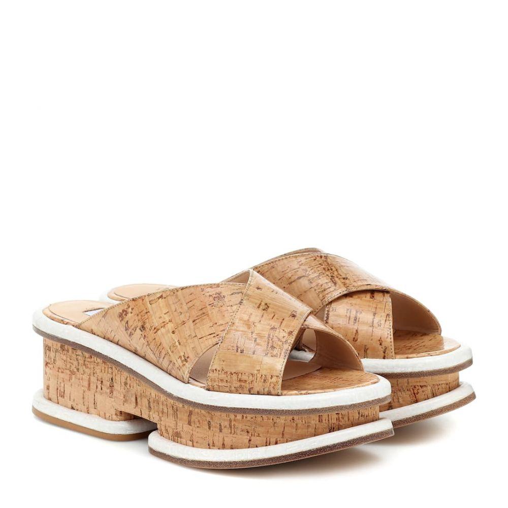 ガブリエラ ハースト Gabriela Hearst レディース サンダル・ミュール シューズ・靴【Gryphius platform slides】Natural