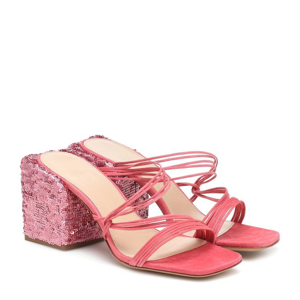 ジャックムス Jacquemus レディース サンダル・ミュール シューズ・靴【Les Mules Estello leather sandals】Pink