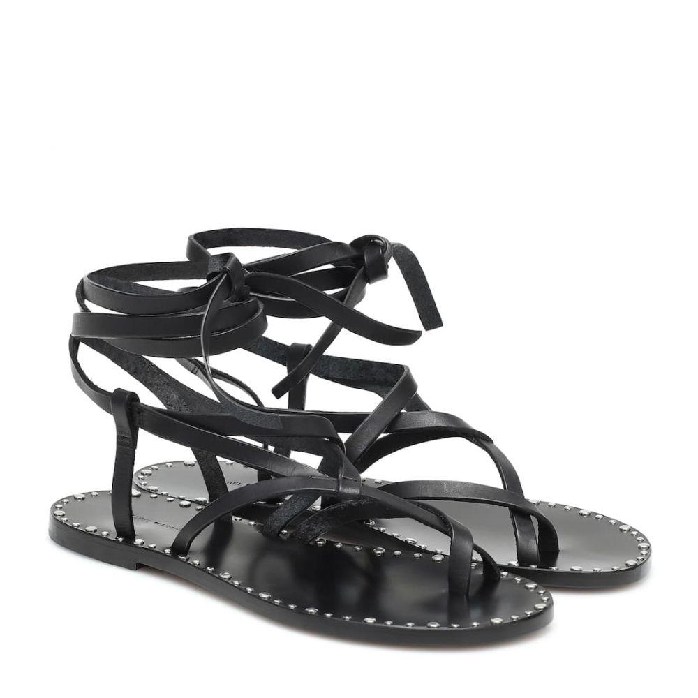 イザベル マラン Isabel Marant レディース サンダル・ミュール シューズ・靴【Jesaro leather sandals】Black