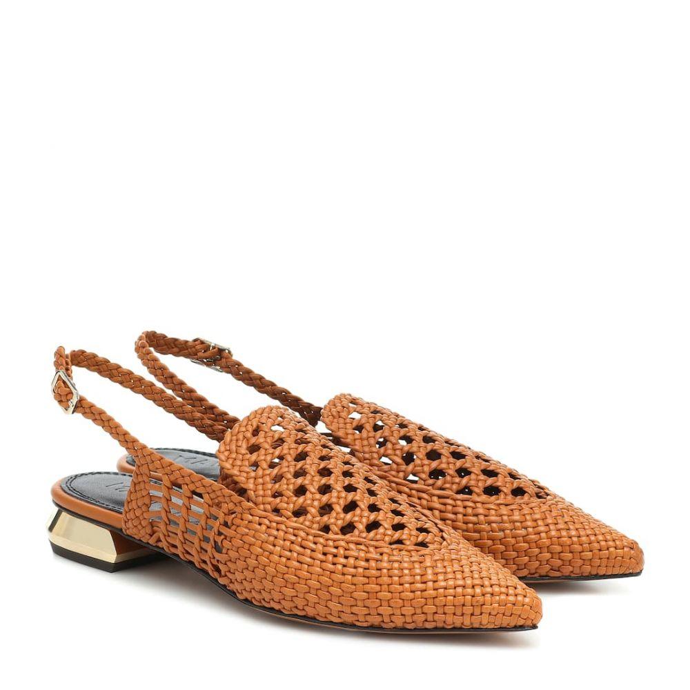 スリアーズ マルティネス Souliers Martinez レディース サンダル・ミュール シューズ・靴【Gloria leather slingback sandals】Tierra