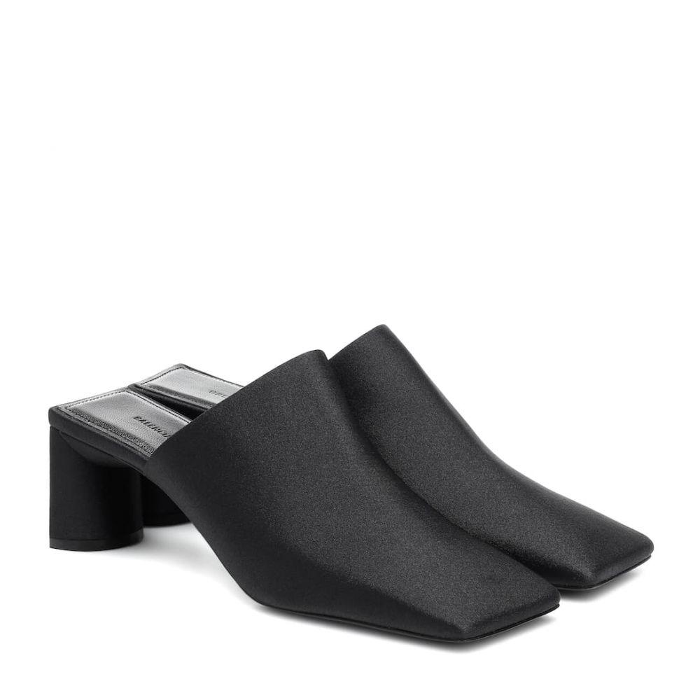 バレンシアガ Balenciaga レディース サンダル・ミュール シューズ・靴【Double Square mules】Black/White