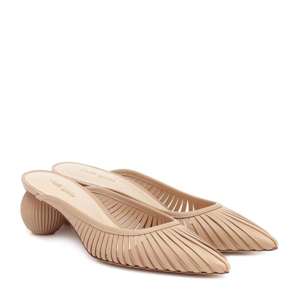 カルト ガイア Cult Gaia レディース サンダル・ミュール シューズ・靴【Alia leather mules】Sand