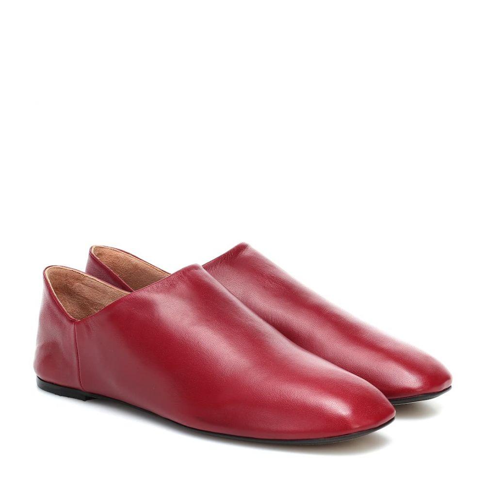 ジョゼフ Joseph レディース スリッポン・フラット シューズ・靴【Leather ballet flats】Carminio