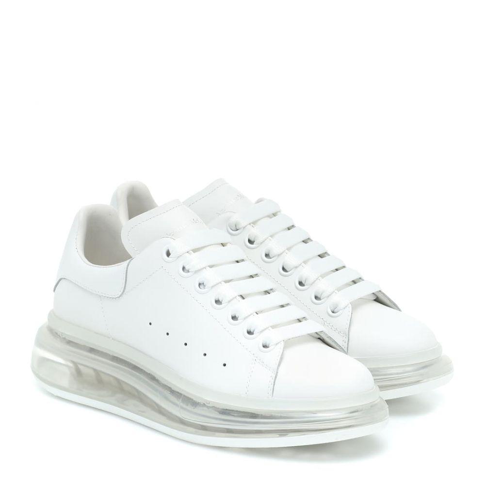 アレキサンダー マックイーン Alexander McQueen レディース スニーカー シューズ・靴【Leather sneakers】White/White/White