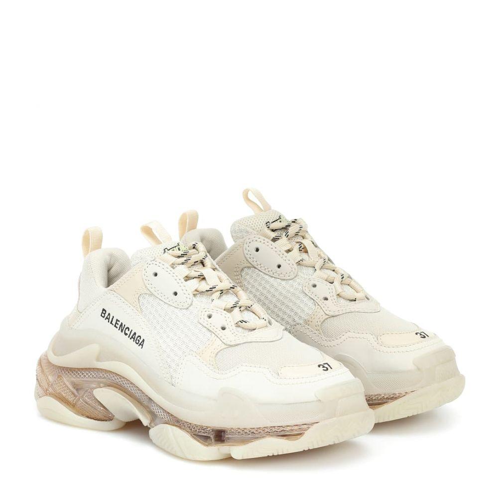 バレンシアガ Balenciaga レディース スニーカー シューズ・靴【Triple S sneakers】Off White