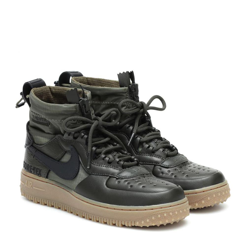 ナイキ Nike レディース ブーツ ショートブーツ ウインターブーツ シューズ・靴【Air Force 1 Winter GORE-TEX ankle boots】Sequoi/Black