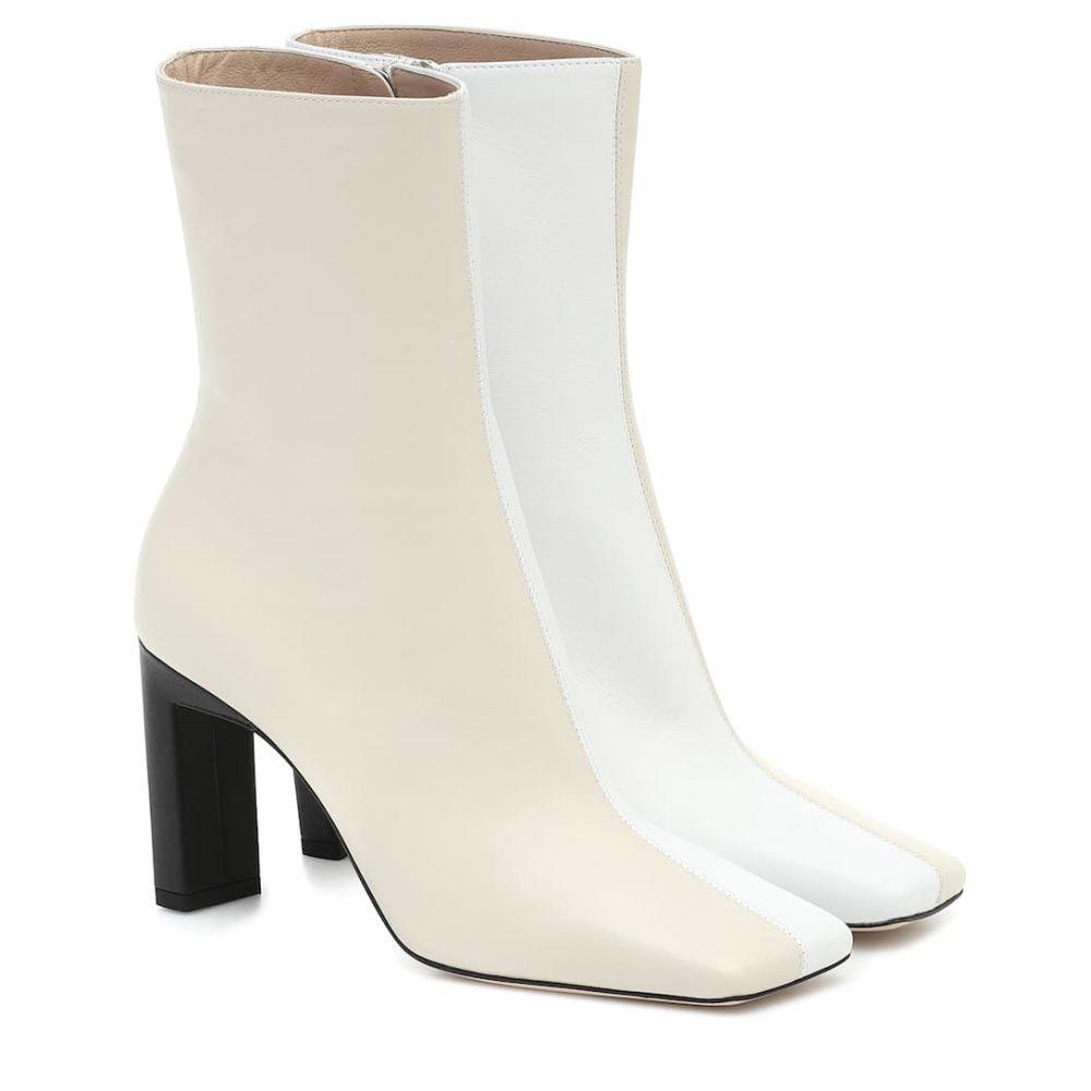 ワンダラー Wandler レディース ブーツ ショートブーツ シューズ・靴【Isa leather ankle boots】Buttercream Mix