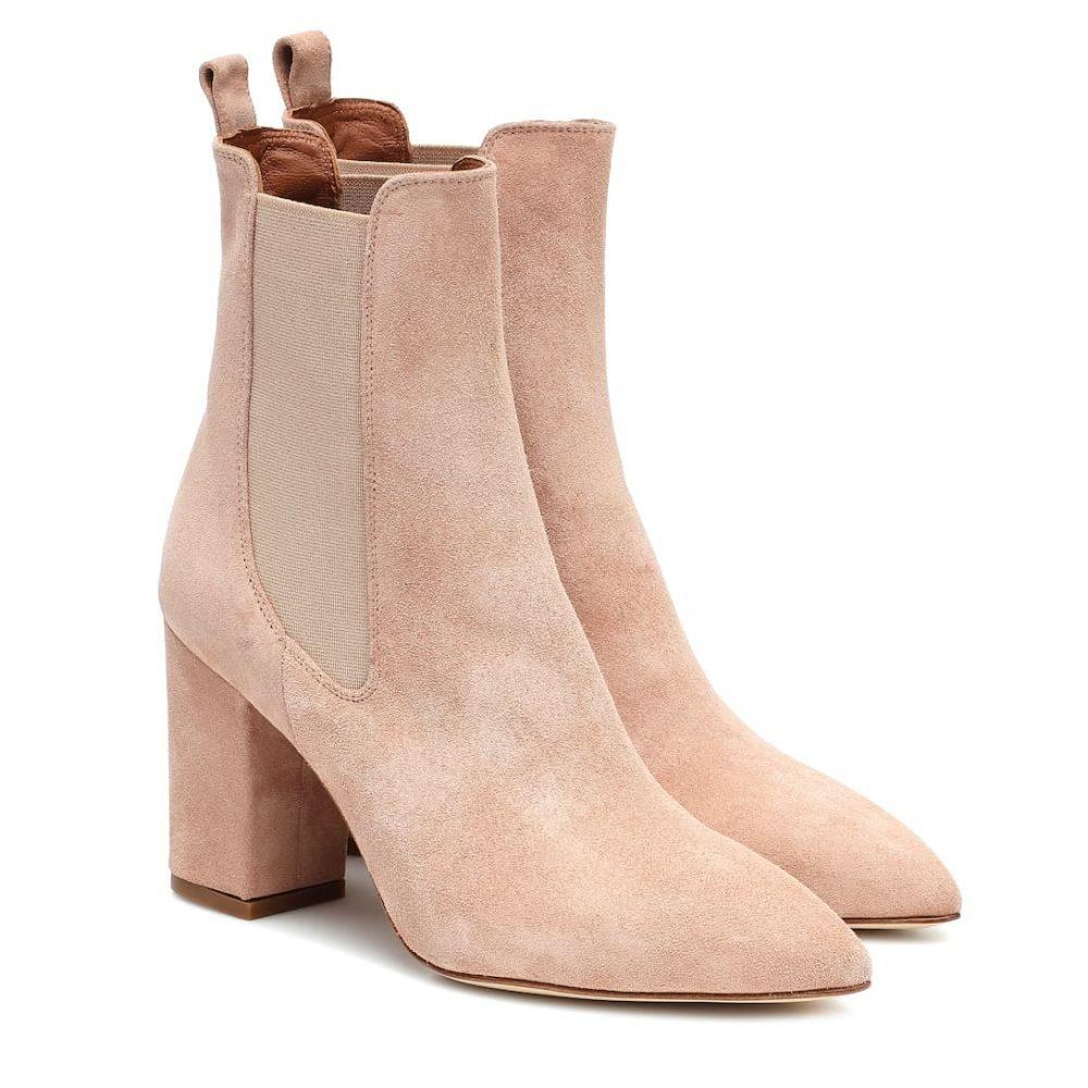 パリ テキサス Paris Texas レディース ブーツ ショートブーツ シューズ・靴【Suede ankle boots】Cipria