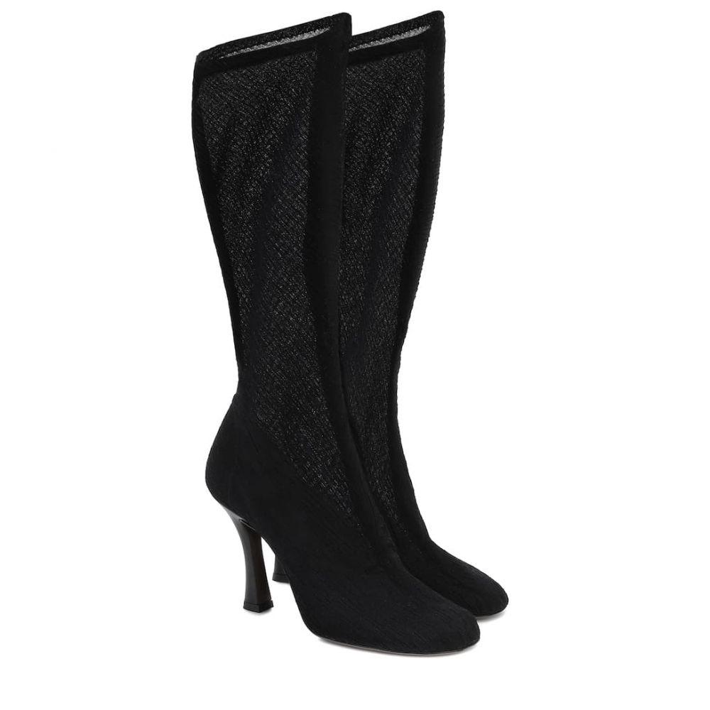 ネオアス Neous レディース ブーツ シューズ・靴【Tuberola stretch-knit boots】Black