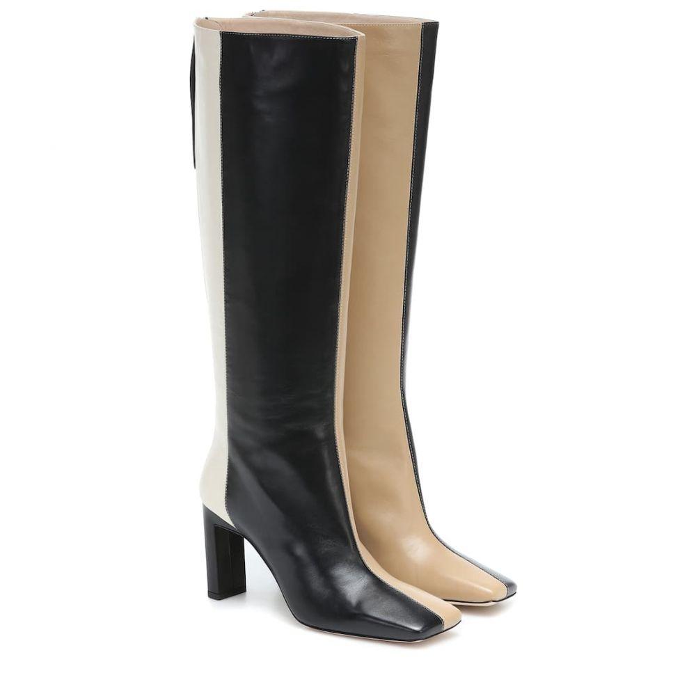 ワンダラー Wandler レディース ブーツ シューズ・靴【Isa leather boots】Toast Mix