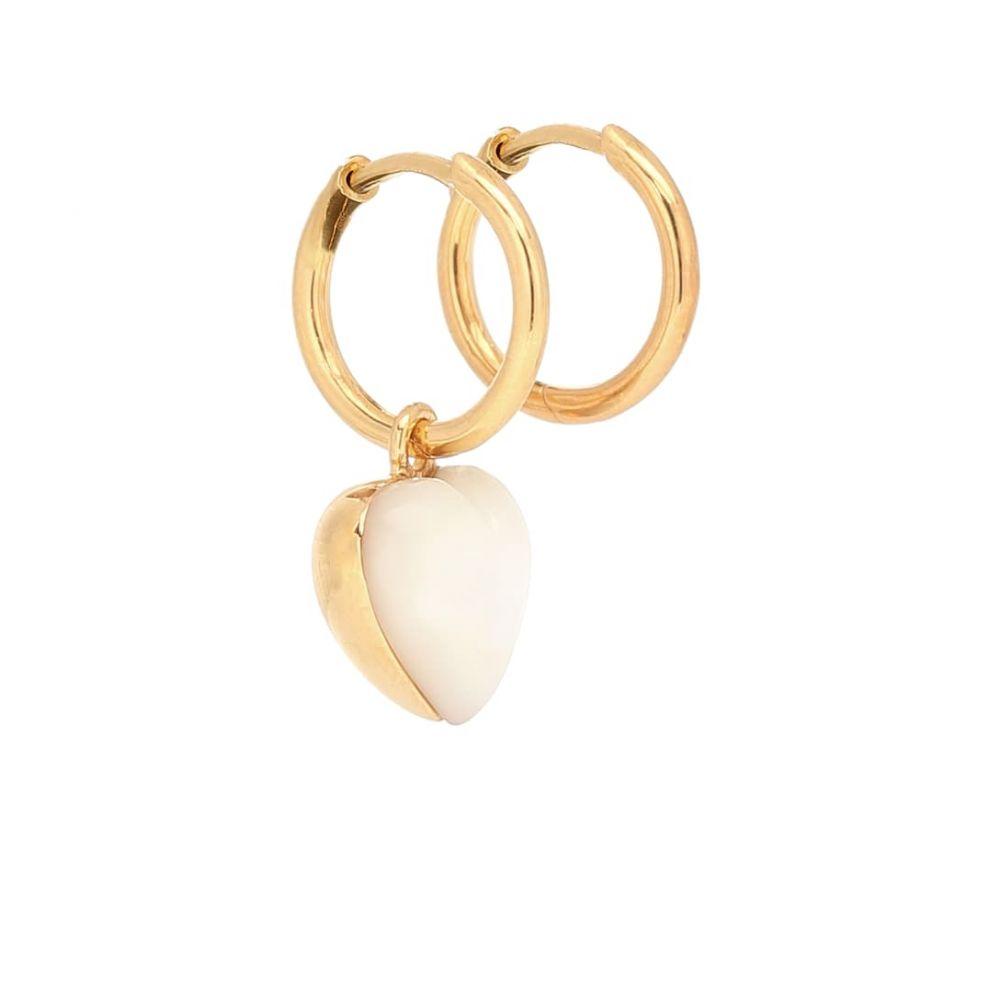 セオドラウェア THEODORA WARRE レディース イヤリング・ピアス ジュエリー・アクセサリー【Gold-plated mother-of-pearl earrings】