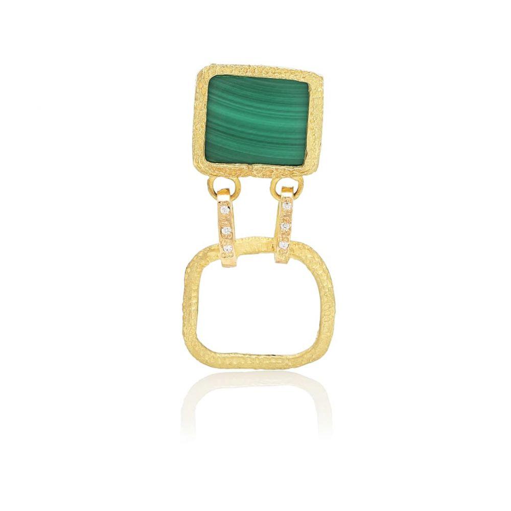 エルハナティ Elhanati レディース イヤリング・ピアス ジュエリー・アクセサリー【Roxy Delight 18kt gold earring with diamond】