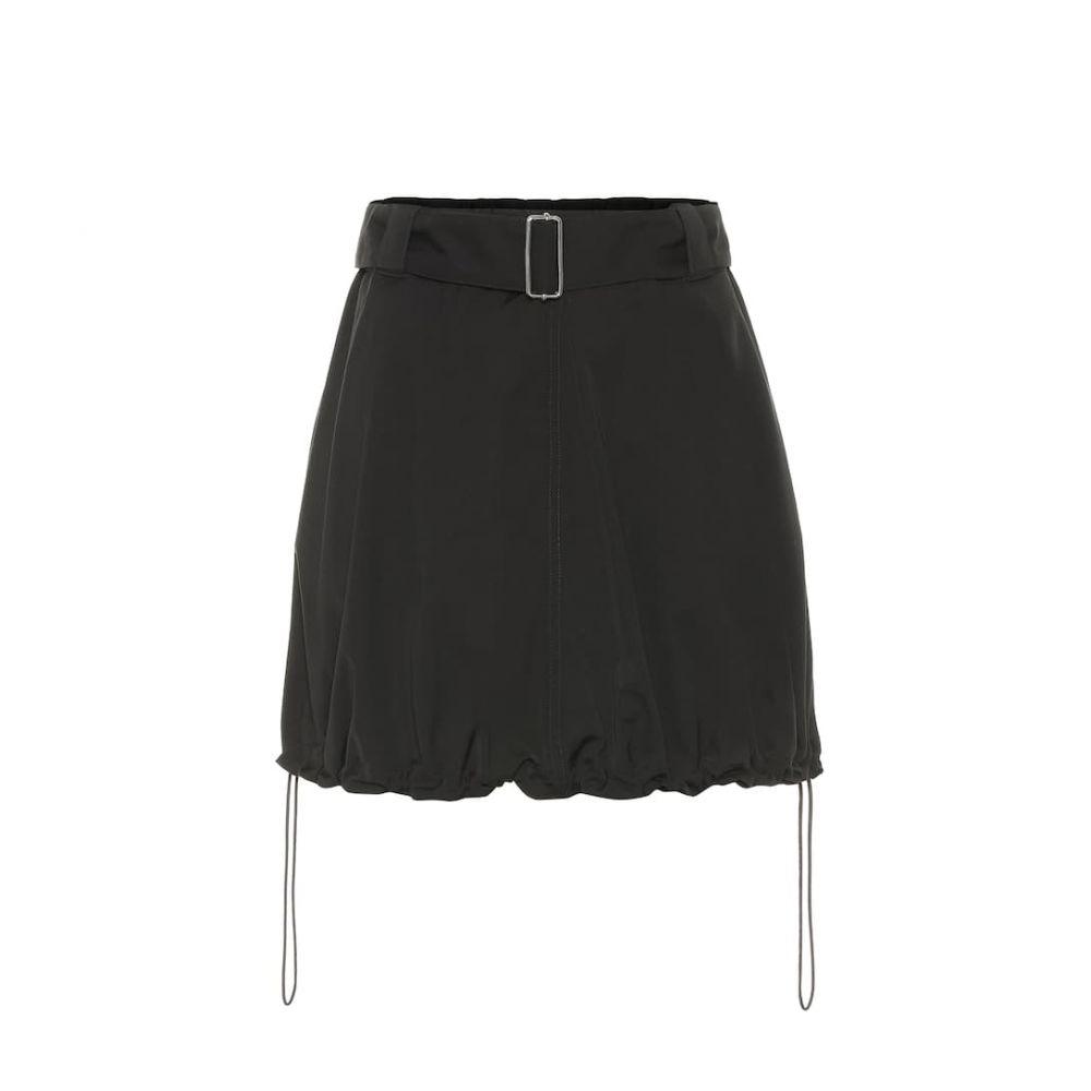 J.W.アンダーソン JW Anderson レディース ミニスカート スカート【Drawstring miniskirt】black