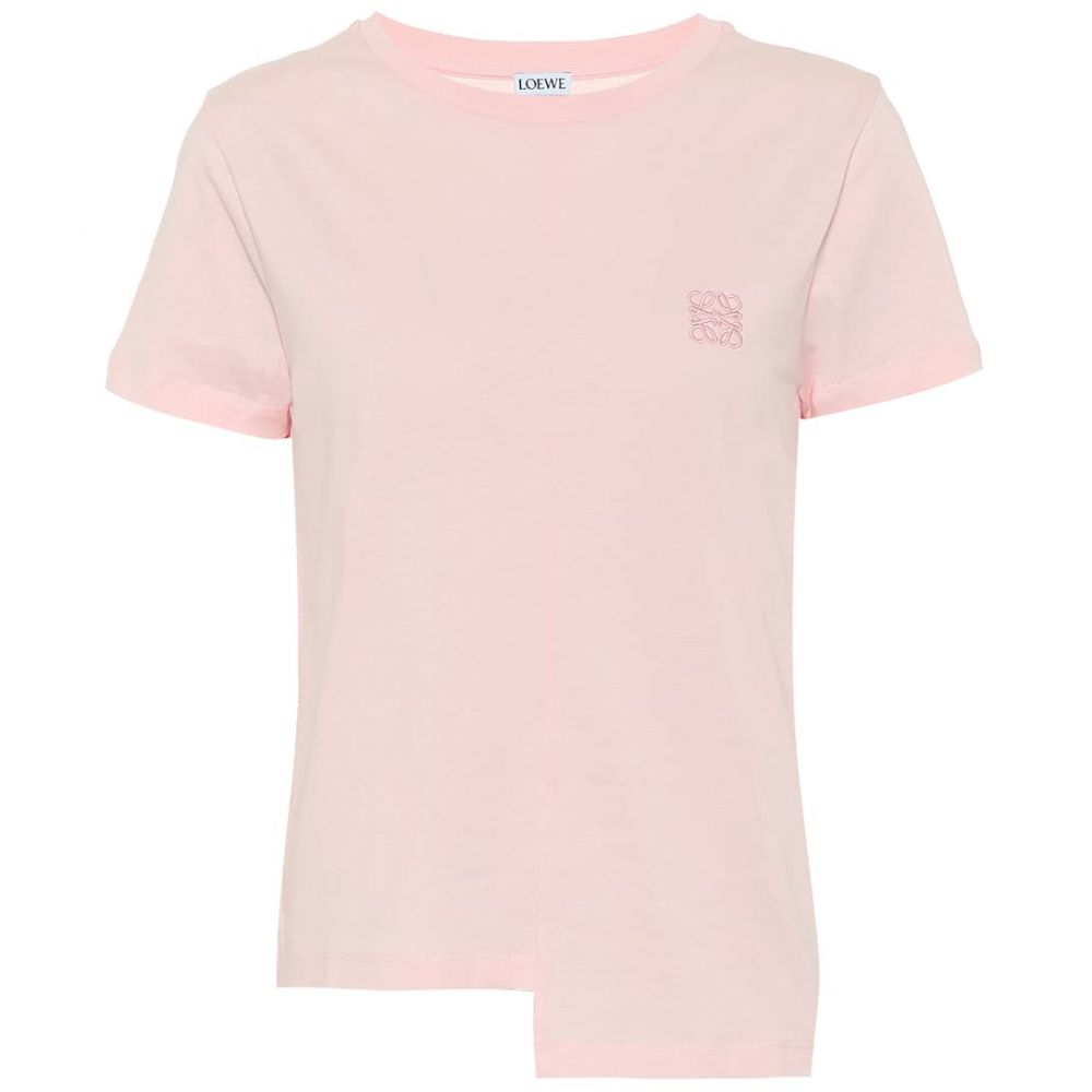 ロエベ Loewe レディース Tシャツ トップス【Cotton T-shirt】Pink