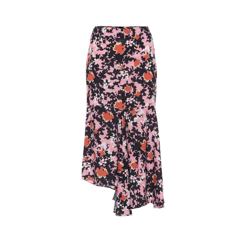 マルニ Marni レディース ひざ丈スカート スカート【Floral midi skirt】Pink Candy