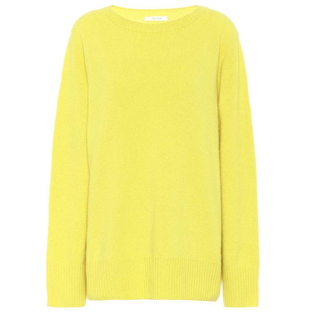 ザ ロウ The Row レディース ニット・セーター トップス【Sibel wool and cashmere sweater】Citron