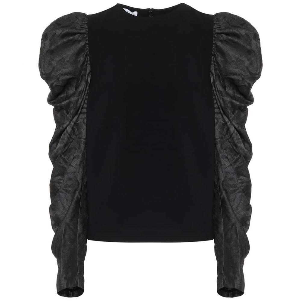 レジーナ ピヨ Rejina Pyo レディース トップス 【Silk-blend top】Black/Crepe/Black