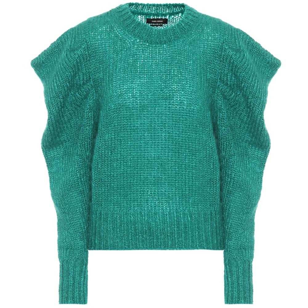 イザベル マラン Isabel Marant レディース ニット・セーター トップス【Ivelyne mohair-blend sweater】Green