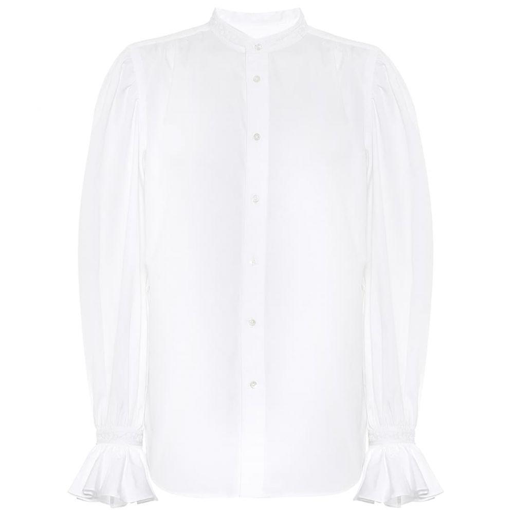 ラルフ ローレン Polo Ralph Lauren レディース ブラウス・シャツ トップス【Cotton blouse】White