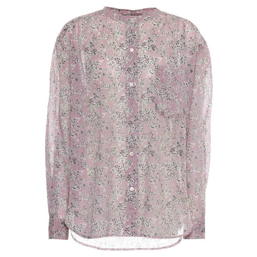 イザベル マラン Isabel Marant, Etoile レディース ブラウス・シャツ トップス【Mexika floral cotton shirt】Pink