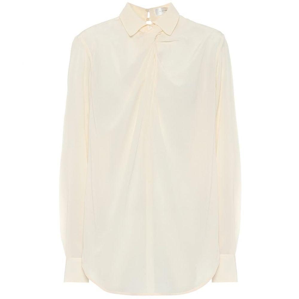 ヴィクトリア ベッカム Victoria Beckham レディース ブラウス・シャツ トップス【Silk shirt】Vanilla