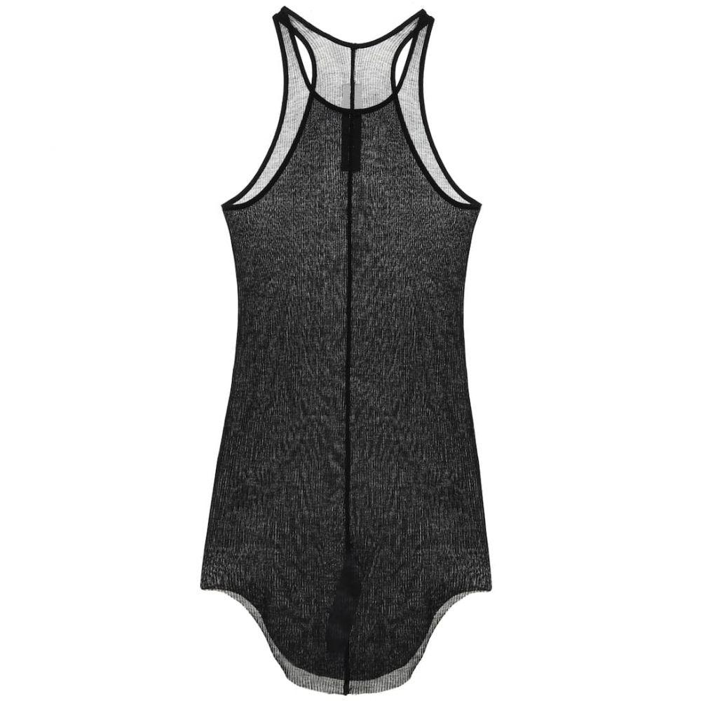 リック オウエンス Rick Owens レディース タンクトップ トップス【Silk-blend mesh tank top】