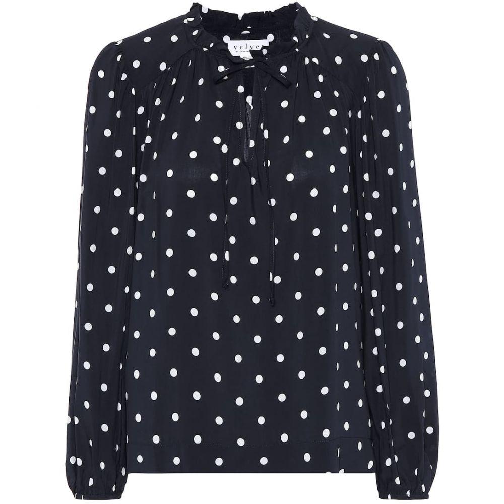 ベルベット グラハム&スペンサー Velvet レディース ブラウス・シャツ トップス【Polka-dot blouse】Polka Dot
