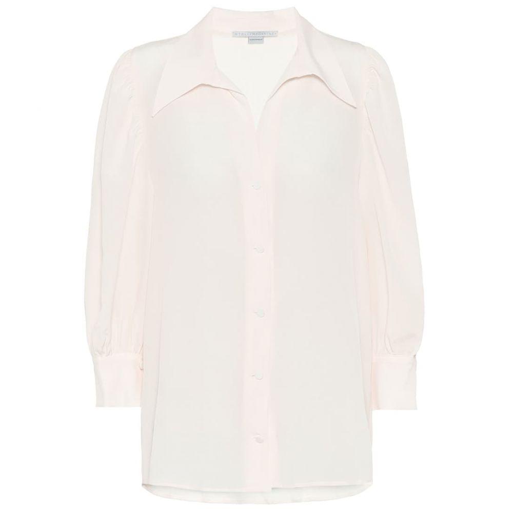 ステラ マッカートニー Stella McCartney レディース ブラウス・シャツ トップス【Silk shirt】Natural