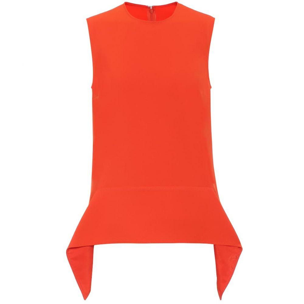 ヴィクトリア ベッカム Victoria Victoria Beckham レディース ノースリーブ トップス【Sleeveless stretch top】Flame Red