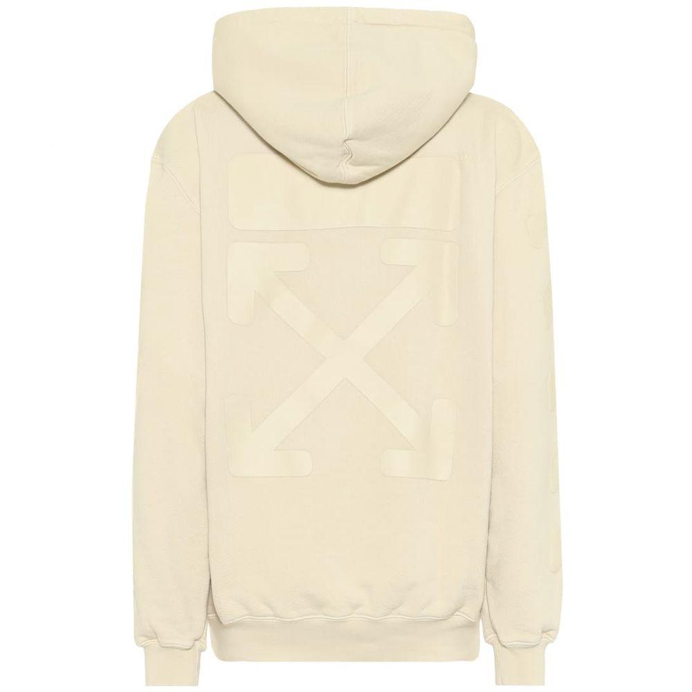 オフホワイト Off-White レディース パーカー トップス【Cotton hoodie】Ecru