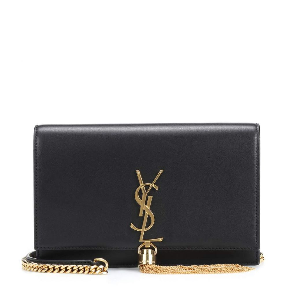 イヴ サンローラン Saint Laurent レディース ショルダーバッグ バッグ【Kate Tassel Small shoulder bag】Nero