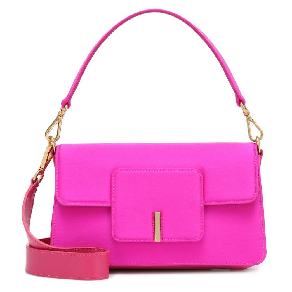 ワンダラー Wandler レディース ショルダーバッグ バッグ【Georgia satin shoulder bag】Hot Pink
