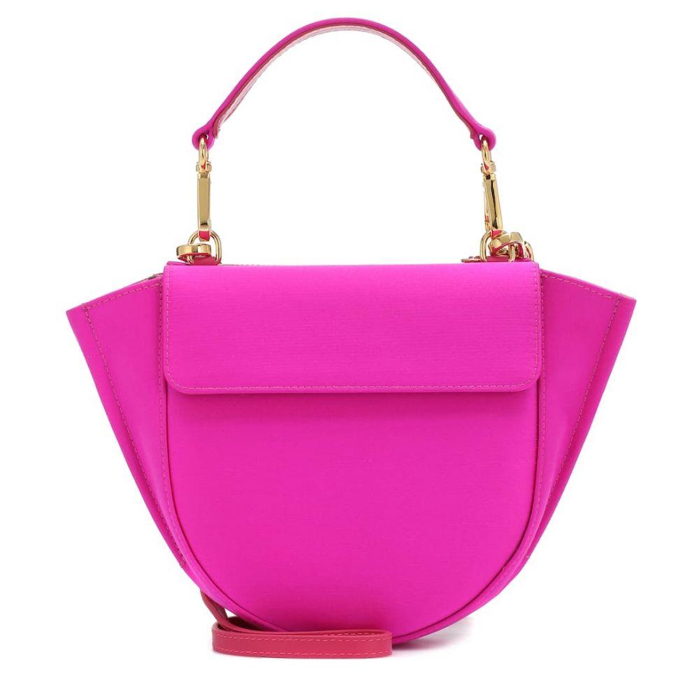 ワンダラー Wandler レディース ショルダーバッグ バッグ【Hortensia Mini satin shoulder bag】Hot Pink