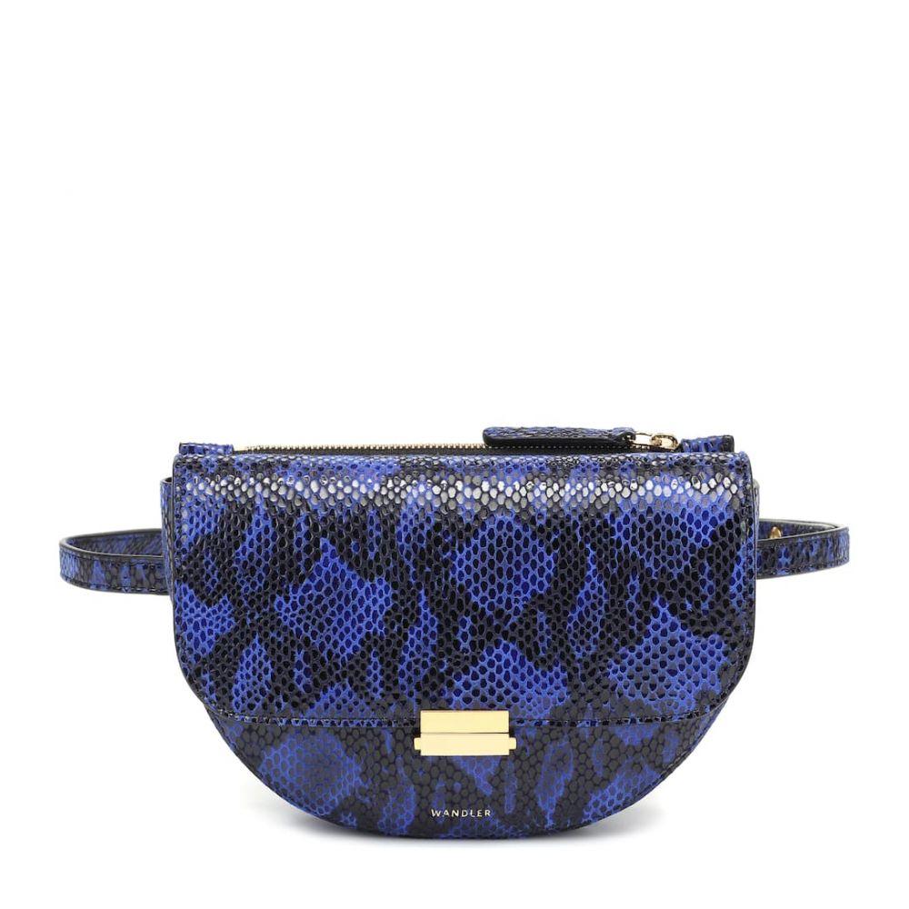 ワンダラー Wandler レディース ボディバッグ・ウエストポーチ バッグ【Anna Buckle leather belt bag】Magic Pyt