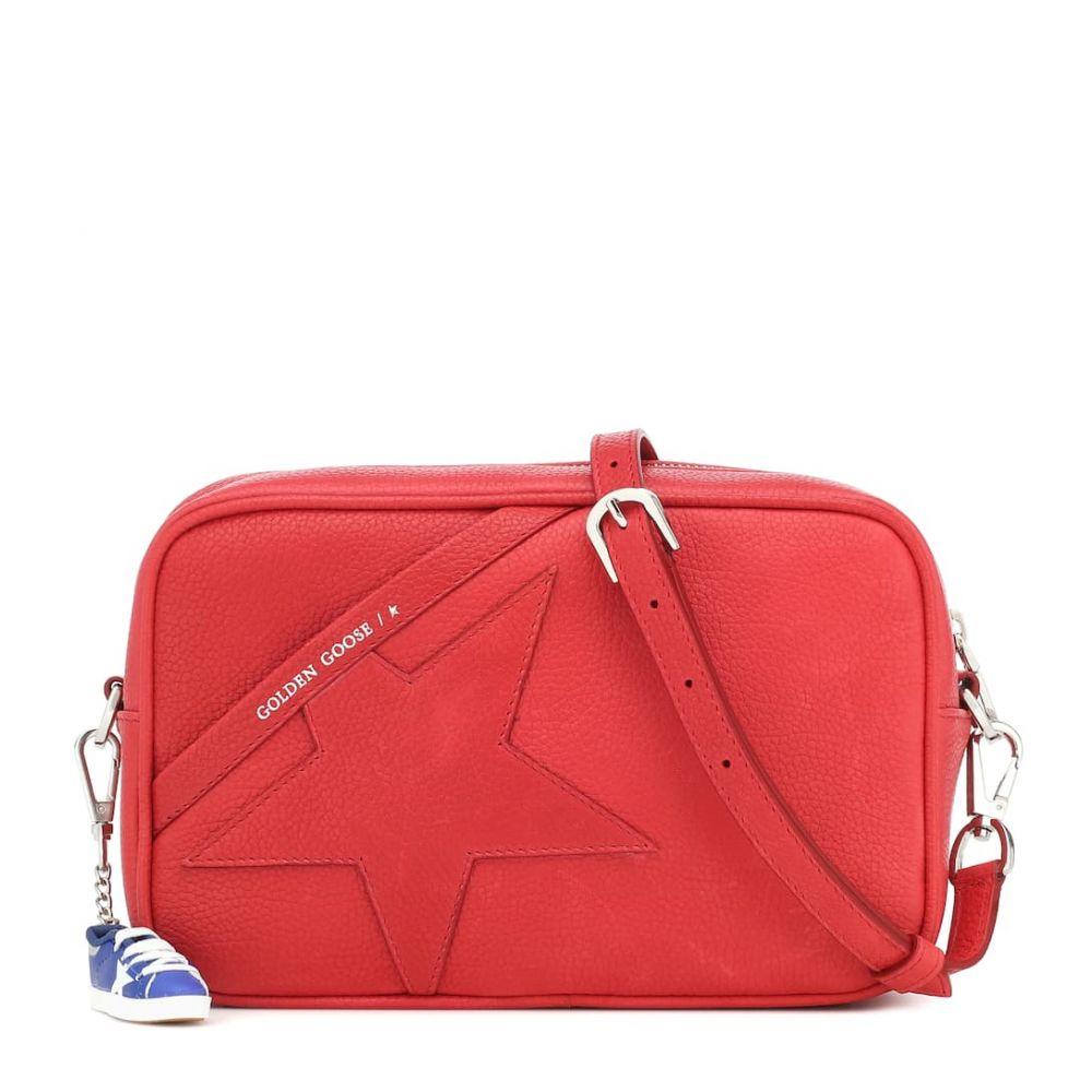 ゴールデン グース Golden Goose レディース ショルダーバッグ バッグ【Star leather shoulder bag】Red