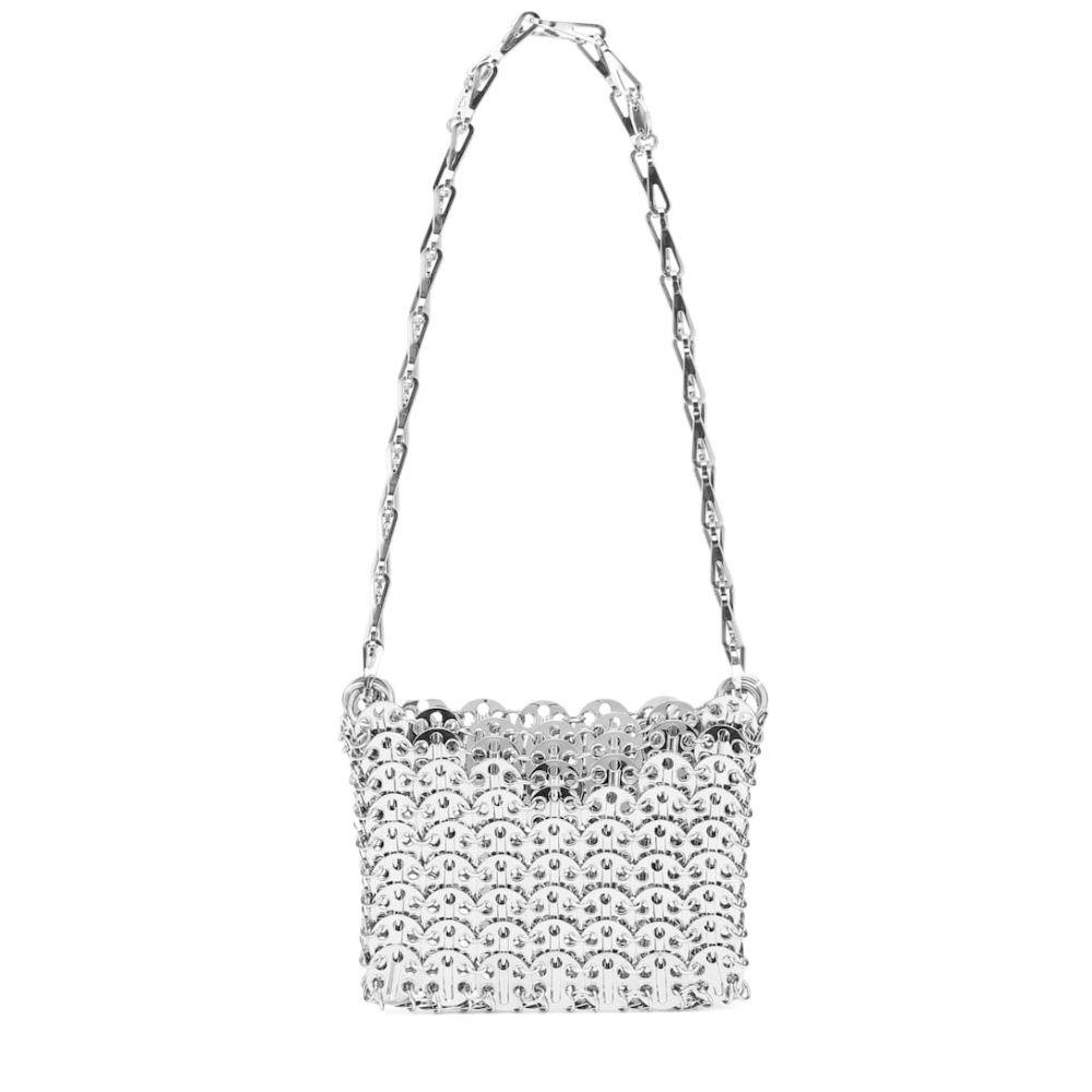 パコラバンヌ Paco Rabanne レディース ショルダーバッグ バッグ【Iconic 1969 shoulder bag】Silver