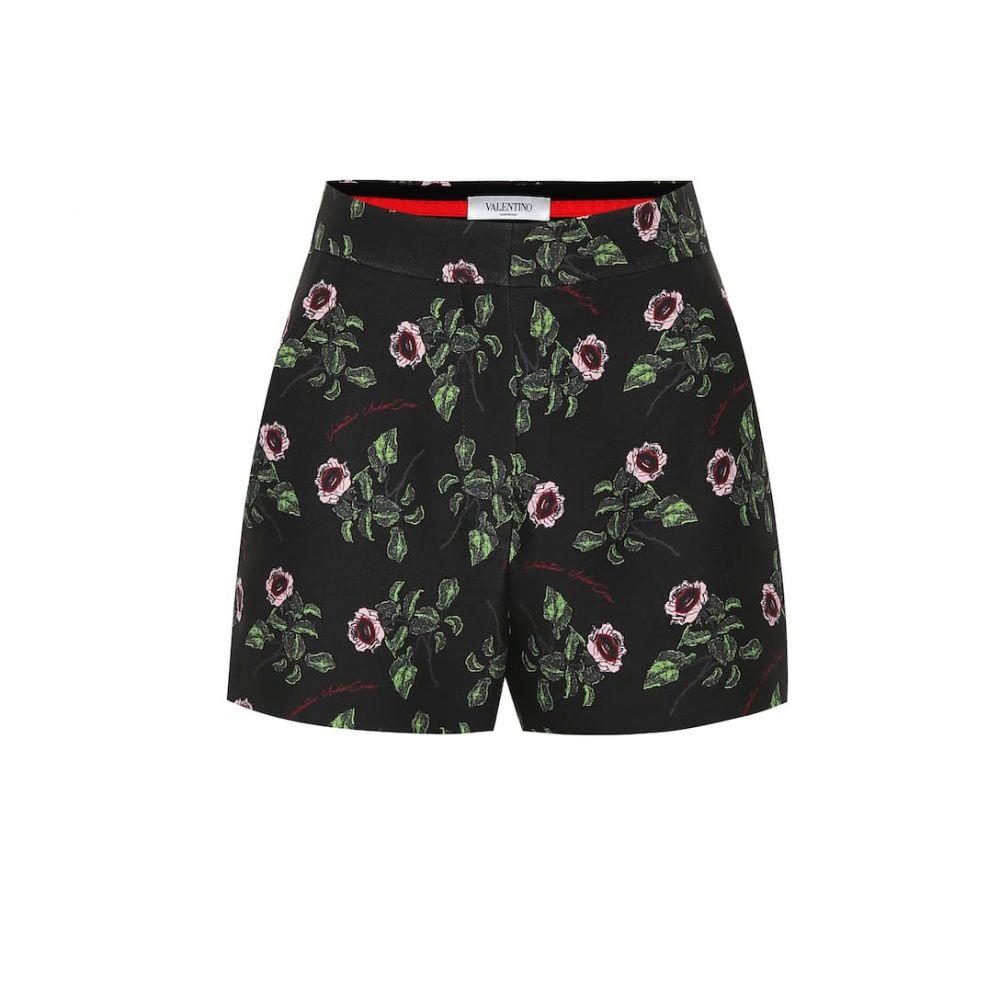 ヴァレンティノ Valentino レディース ショートパンツ ボトムス・パンツ【High-rise wool and silk shorts】