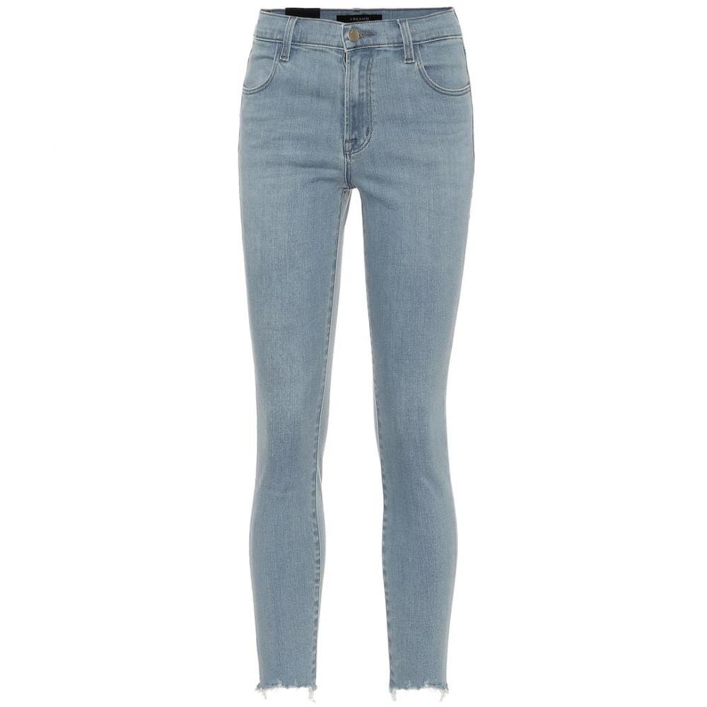 ジェイ ブランド J Brand レディース ジーンズ・デニム ボトムス・パンツ【Alana high-rise skinny jeans】Decandence Destruct