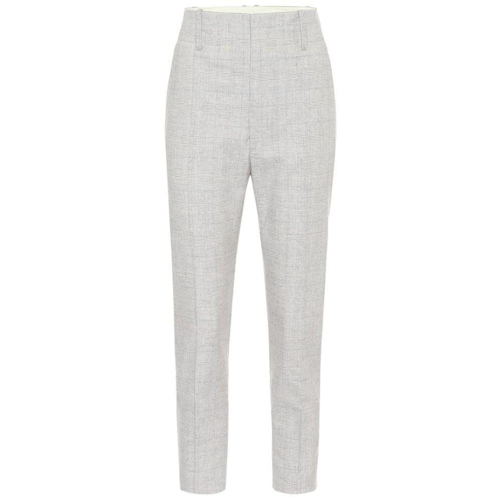 イザベル マラン Isabel Marant, Etoile レディース ボトムス・パンツ 【Noah wool-blend pants】Light Grey