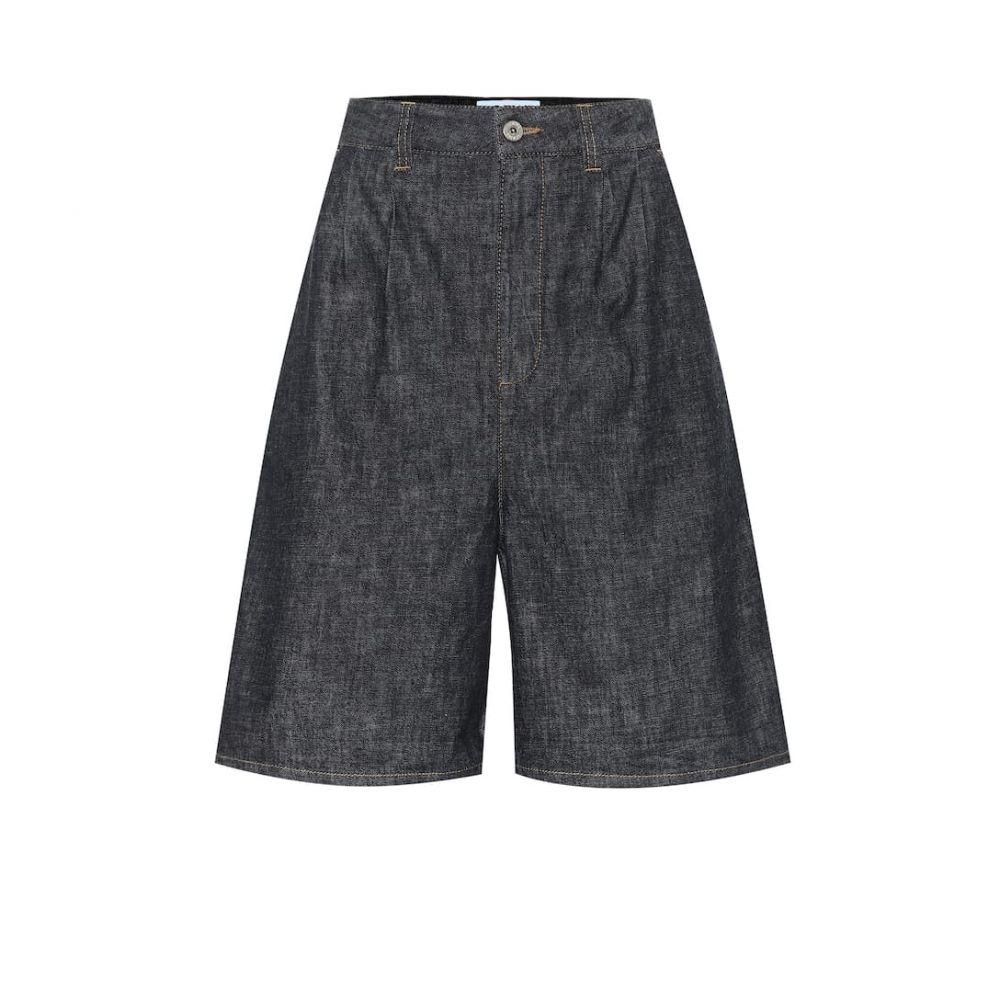 ロエベ Loewe レディース ショートパンツ デニム ボトムス・パンツ【High-rise denim shorts】Indigo
