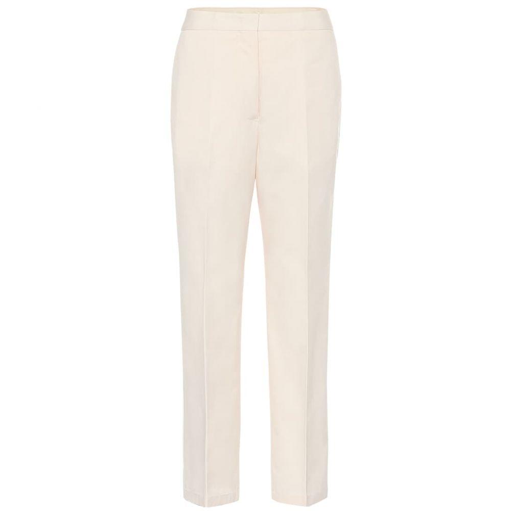 ジル サンダー Jil Sander レディース ボトムス・パンツ 【High-rise cotton straight pants】Light Beige