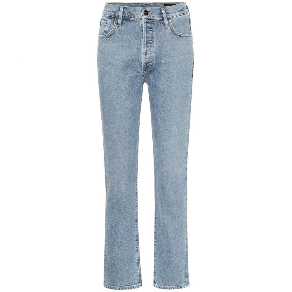 ゴールドサイン Goldsign レディース ジーンズ・デニム ボトムス・パンツ【The Benefit high-rise straight jeans】Alina