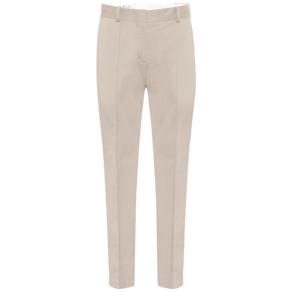 ロロピアーナ Loro Piana レディース ボトムス・パンツ 【Derk Symphony stretch-cotton pants】