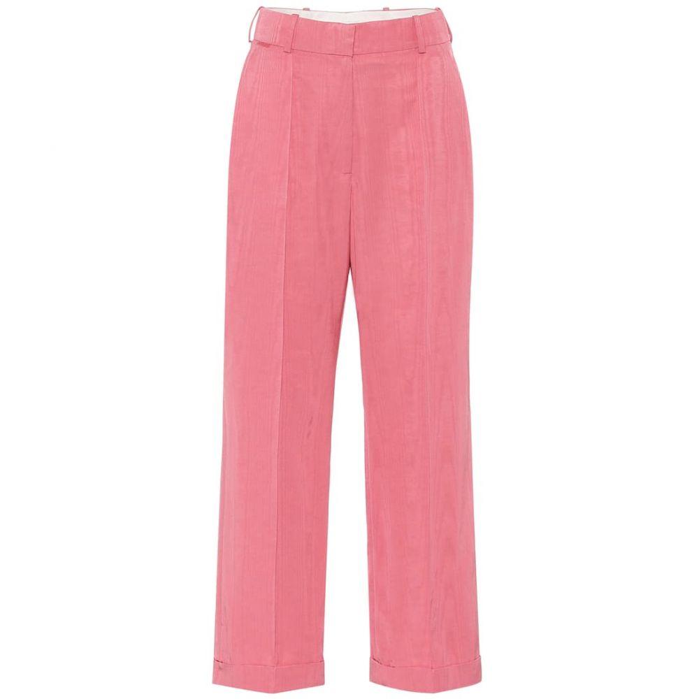 ラシル Racil レディース ボトムス・パンツ 【Charlie cotton-blend wide-leg pants】Rose