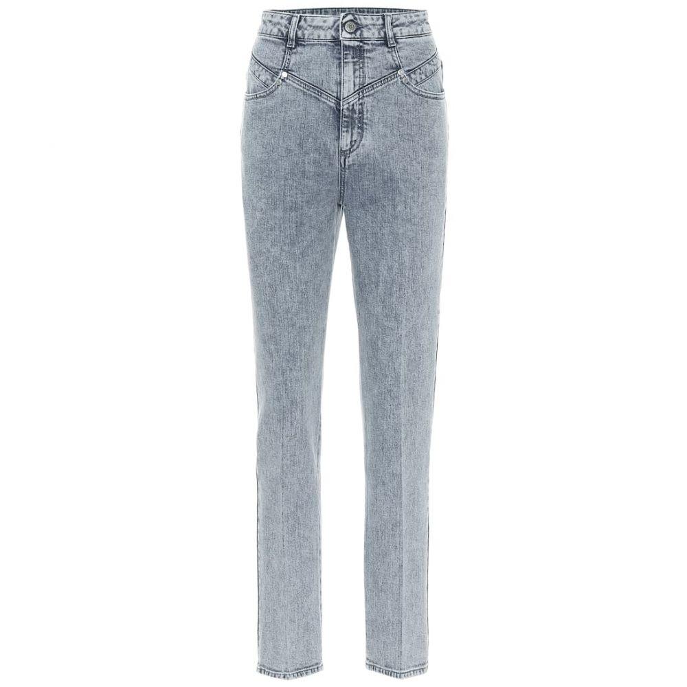 ステラ マッカートニー Stella McCartney レディース ジーンズ・デニム ボトムス・パンツ【High-rise stretch-denim slim jeans】80s Blue