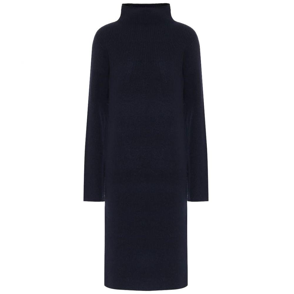 ザ ロウ The Row レディース ワンピース ワンピース・ドレス【Moa wool-blend dress】Dark Navy