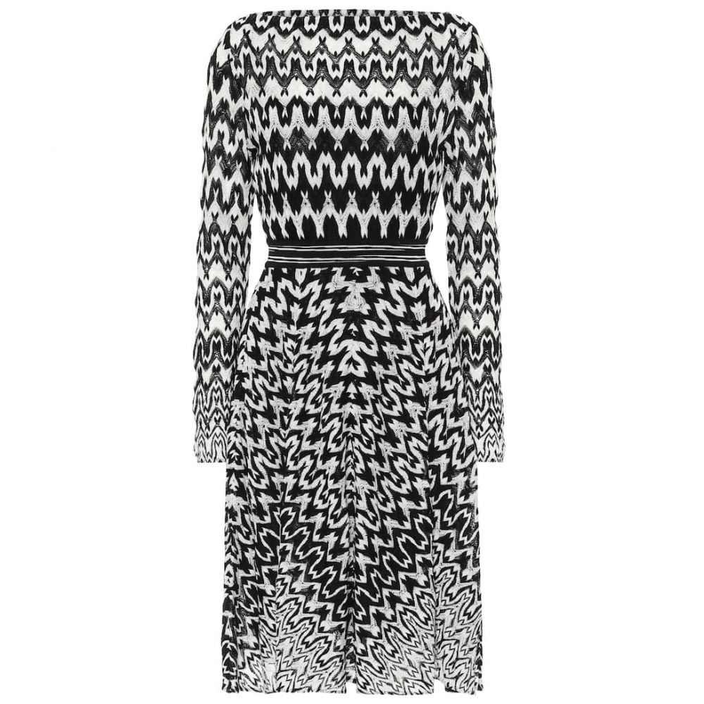 ミッソーニ Missoni レディース ワンピース ワンピース・ドレス【Stretch-knit dress】